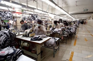 2008 - Production capacity increased to 750,000 mixed garments a month